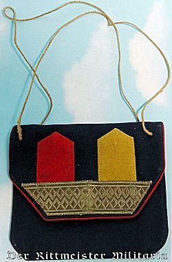 LADIES SMALL PATRIOTIC CHANGE PURSE - Imperial German Military Antiques Sale