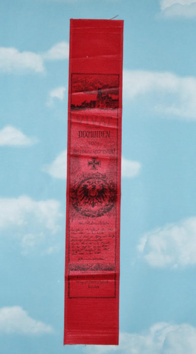 VIVAT RIBBON FOR BATTLE OF DIXMUIDEN - Imperial German Military Antiques Sale