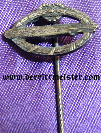 COMMEMORATIVE ARMY AIRSHIP BADGE - STICKPIN - Imperial German Military Antiques Sale