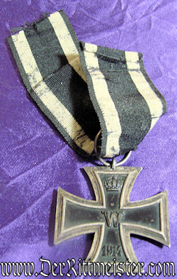 1914 IRON CROSSES 1st AND 2nd CLASS - DOCUMENTS & DECORATIONS - Imperial German Military Antiques Sale
