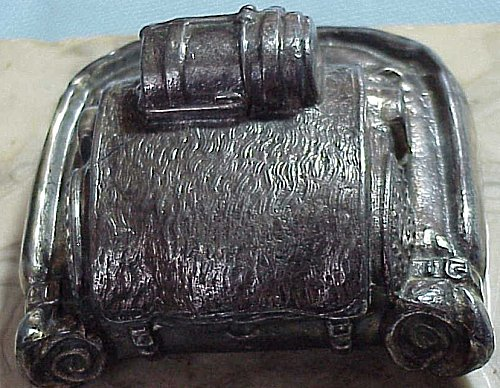 DESK PIECE IN THE SHAPE OF A FIELD PACK - Imperial German Military Antiques Sale