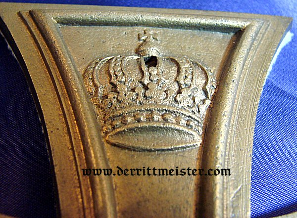 DESK PIECE - 1914 IRON CROSS - Imperial German Military Antiques Sale
