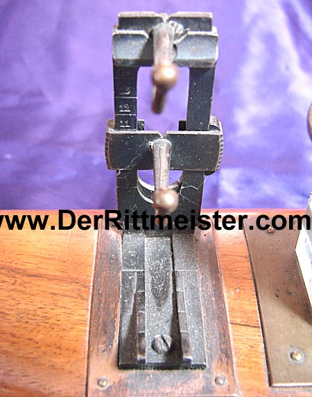 MAUSER RIFLE STOCK PEN & INK STAND - Imperial German Military Antiques Sale
