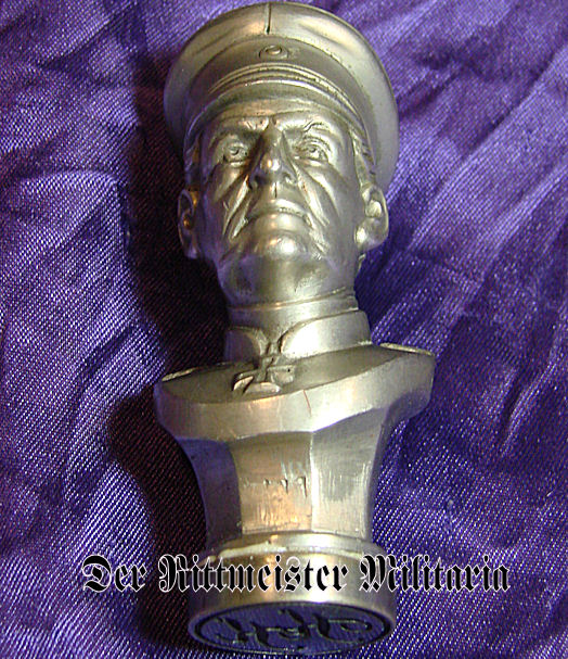 SEAL - GENERALFELDMARSCHALL GRAF HELMUTH von MOLTKE'S IMAGE - Imperial German Military Antiques Sale