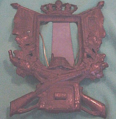FRAME - BAVARIAN VETERANS - Imperial German Military Antiques Sale