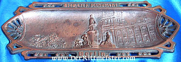 DESK PIECE - BISMARCK MONUMENT - BERLIN - Imperial German Military Antiques Sale