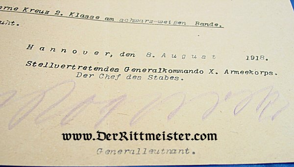 OFFICER'S DOCUMENT GROUP - Imperial German Military Antiques Sale