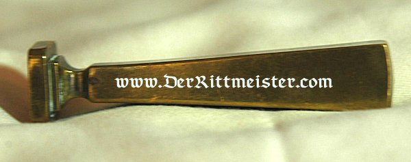 METAL STAMP FOR MARKING SEALING WAX - Imperial German Military Antiques Sale