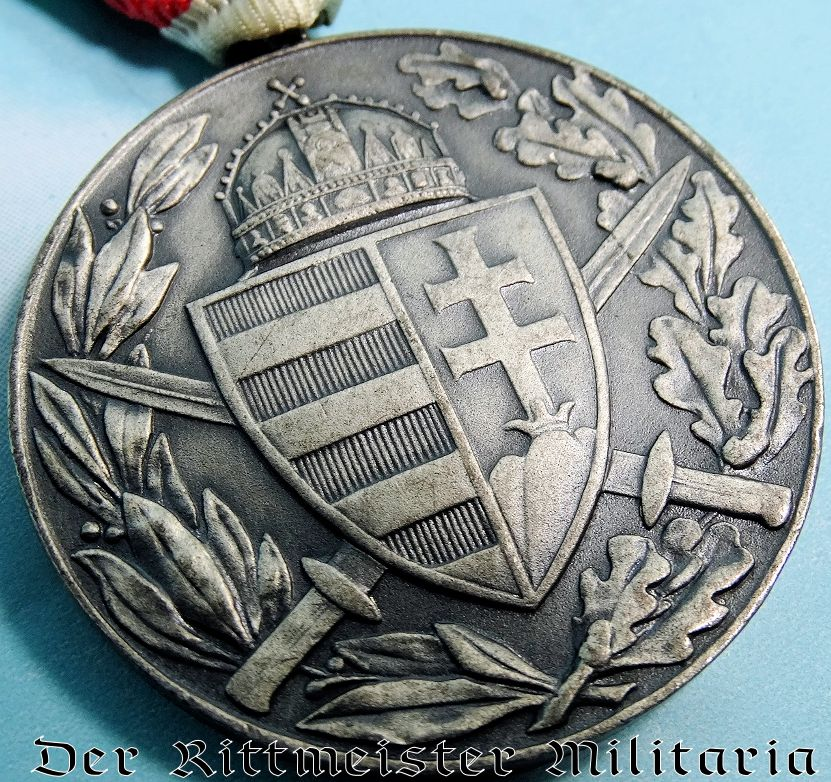 WW I HUNGARIAN WAR SERVICE DECORATION - Imperial German Military Antiques Sale