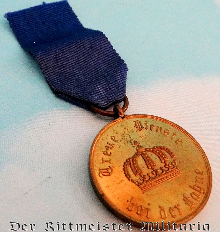 ENLISTED MAN/NCO'S TWELVE-YEAR LONG-SERVICE MEDAL - PRUSSIA - Imperial German Military Antiques Sale