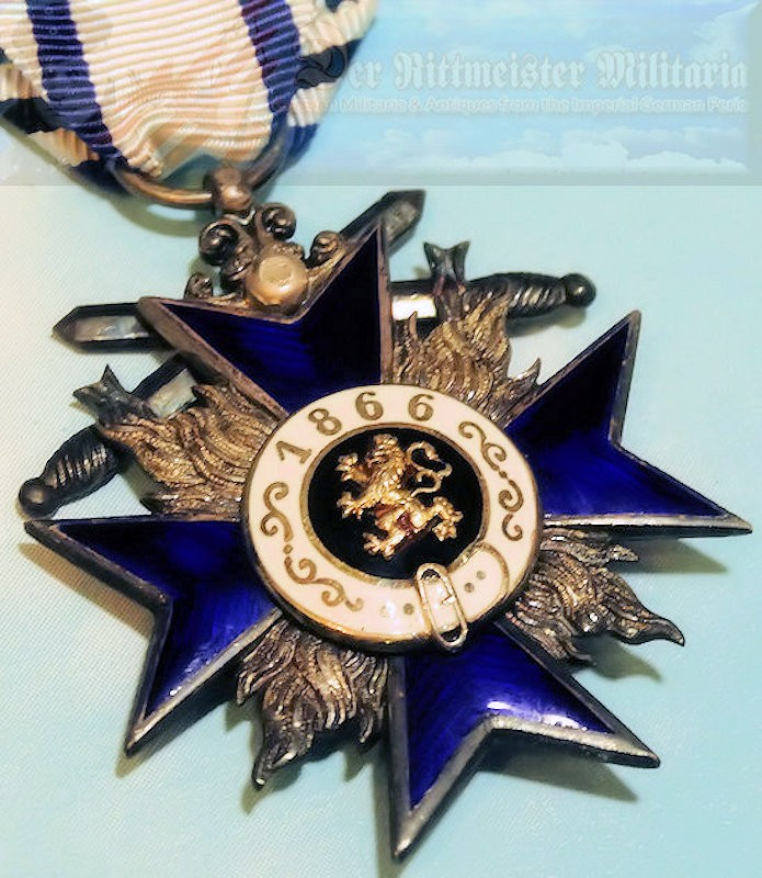 BAVARIA - MILITARY MERIT CROSS 4th CLASS - Imperial German Military Antiques Sale
