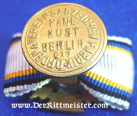 FRAMED PHOTO - DECORATION - BOUTONNIERE - JÄGER zu PFERDE-REGIMENT Nr 7 - PRUSSIA - Imperial German Military Antiques Sale