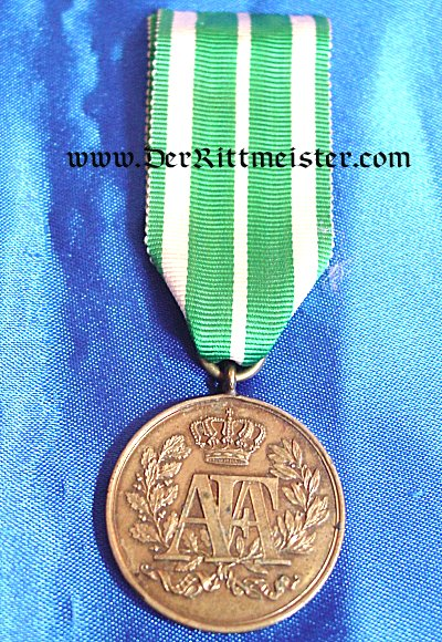 3rd CLASS NINE-YEARS LONG-SERVICE AWARD - SAXONY - Imperial German Military Antiques Sale