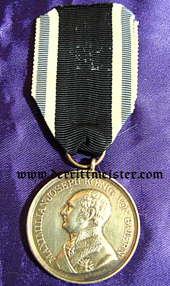 MILITARY SERVICE MEDAL - MAX JOSEPH  - GOLDEN - Imperial German Military Antiques Sale
