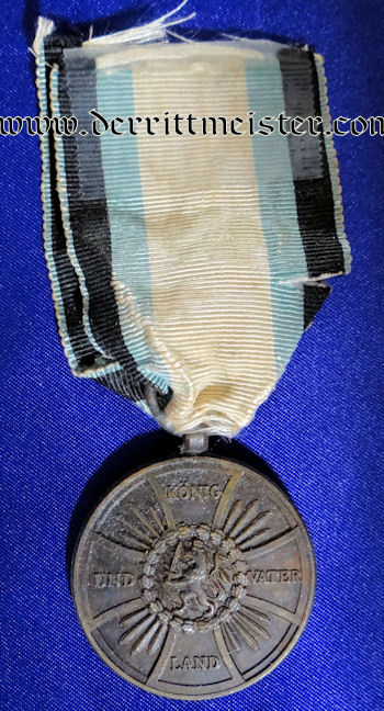 1813-1814 OFFICIAL'S MILITARY MERIT MEDAL - Imperial German Military Antiques Sale