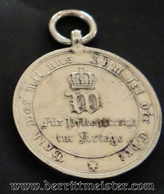 1870-1871 FRANCO-PRUSSIAN WAR NON COMBATANT'S MEDAL - Imperial German Military Antiques Sale