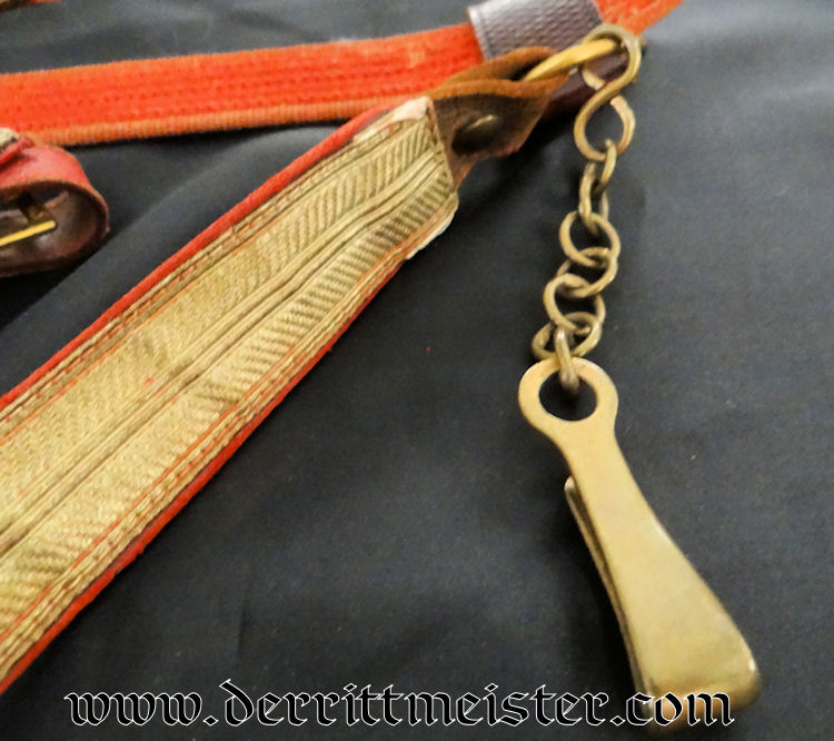 SWORD BELT - Imperial German Military Antiques Sale