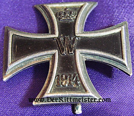 IRON CROSS - 1st CLASS -1914 - Imperial German Military Antiques Sale