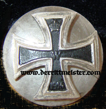 MINIATURE THREE-PIECE SCREWBACK 1914 IRON CROSS 1st CLASS  - Imperial German Military Antiques Sale