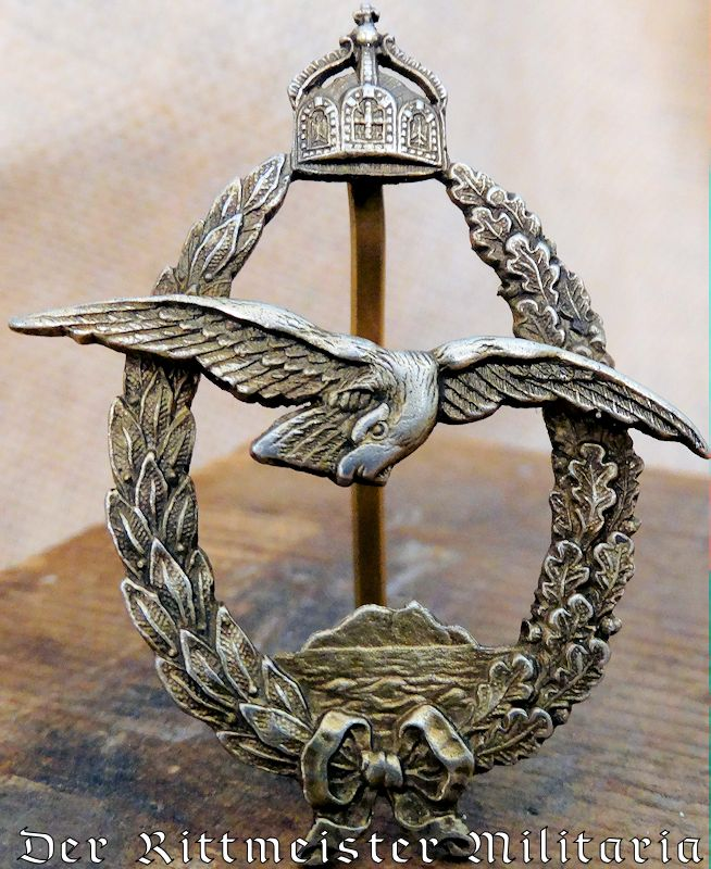 COMMEMORATIVE NAVY OBSERVER BADGE - Imperial German Military Antiques Sale