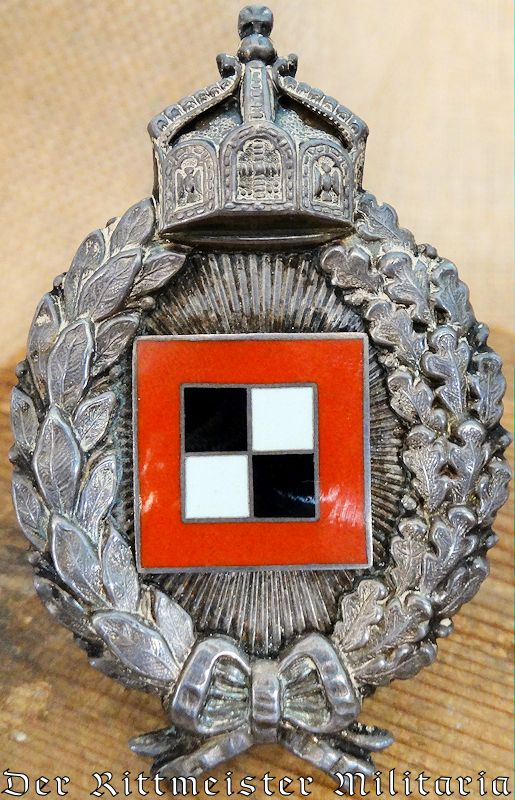 C. E. JUNCKER .800 SILVER ARMY OBSERVER BADGE - PRUSSIA - Imperial German Military Antiques Sale