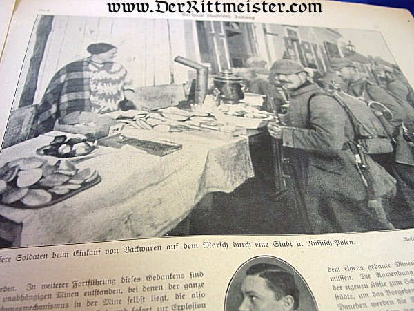 BERLINER ILLUSTRIRTE-ZEITUNG NEWSPAPER - Imperial German Military Antiques Sale