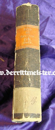 1867 RANG und QUARTIER-LISTE - PRUSSIAN ARMY AND NAVY - Imperial German Military Antiques Sale
