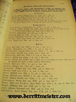 1900 MILITÄR=HANDBUCH - BAVARIA - Imperial German Military Antiques Sale