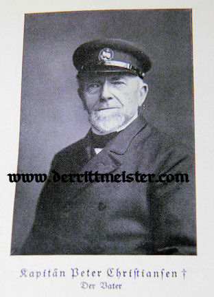 AUTOGRAPHED BIOGRAPHY - OBERLEUTNANT zur SEE FRIEDRICH CHRISTIANSEN - Imperial German Military Antiques Sale