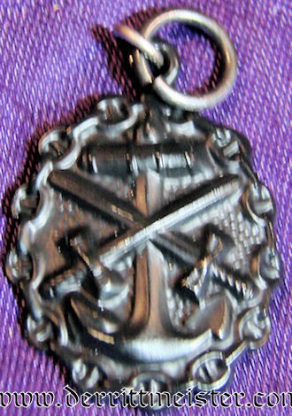 NAVY WOUND BADGE -BLACK - MINIATURE - Imperial German Military Antiques Sale