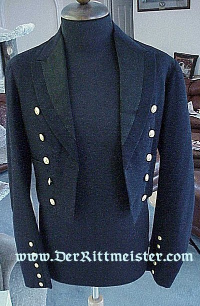 DRESS MESS JACKET FOR THE KAISERLICHER YACHT CLUB - Imperial German Military Antiques Sale