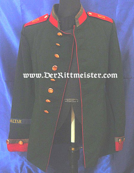 ONE-YEAR-VOLUNTEER'S TUNIC - JÄGER - Bataillon Nr 10 - PRUSSIA - Imperial German Military Antiques Sale