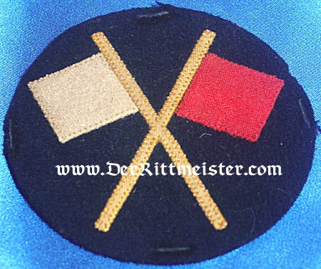 ENLISTED MAN'S INFANTERIE-REGIMENT SIGNALMAN PATCH - Imperial German Military Antiques Sale