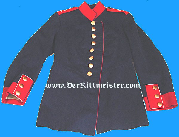 ENLISTED MAN'S TUNIC FOR LANDWEHR DISTRICT Nr 61 - PRUSSIA - Imperial German Military Antiques Sale