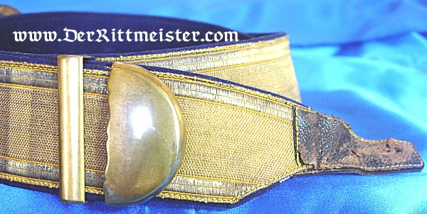 PRUSSIA - DRESS PARADE BELT AND CARTRIDGE BOX WITH ORIGINAL STORAGE BOX - OFFICER - KAVALLERIE REGIMENT - Imperial German Military Antiques Sale