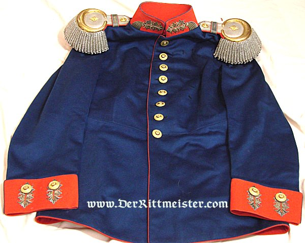 SAXONY - DRESS TUNIC - GENERALLEUTNANT'S - PRE WORLD WAR I - Imperial German Military Antiques Sale