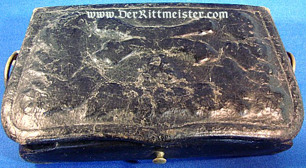 INTERIM NCO/OFFICER ARTILLERIE CARTRIDGE BOX 1870/71 - HESSE-DARMSTADT - Imperial German Military Antiques Sale