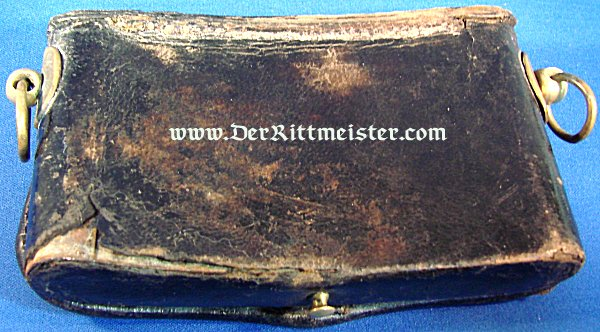 HESSE-DARMSTADT - CARTRIDGE BOX - INTERIM NCO/OFFICER - ARTILLERY - Imperial German Military Antiques Sale