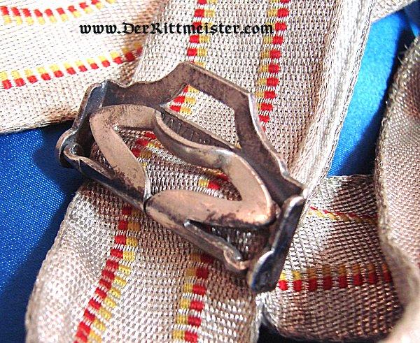 FLÜGELADJUTANT DRESS PARADE BELT/SASH - BADEN - Imperial German Military Antiques Sale