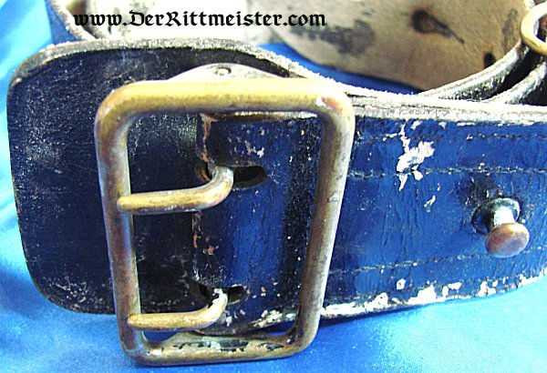 OFFICER'S FIELD BELT AND BUCKLE - Imperial German Military Antiques Sale