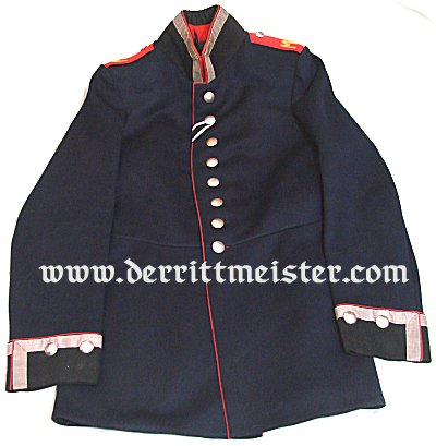 UNTEROFFIZIER'S TUNIC - MINENWERFER DETACHMENT - Imperial German Military Antiques Sale