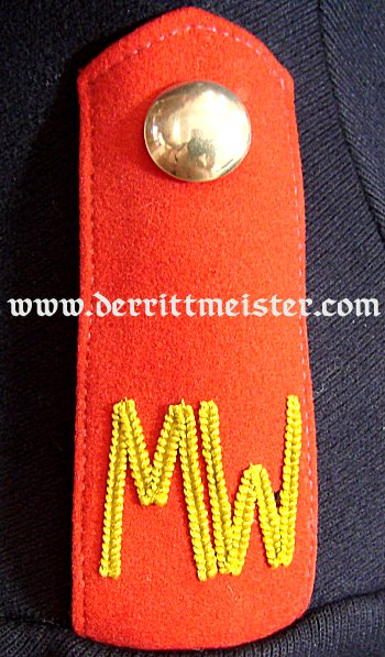 GERMANY - TUNIC - UNTEROFFIZIER - MINENWERFER DETACHMENT - Imperial German Military Antiques Sale