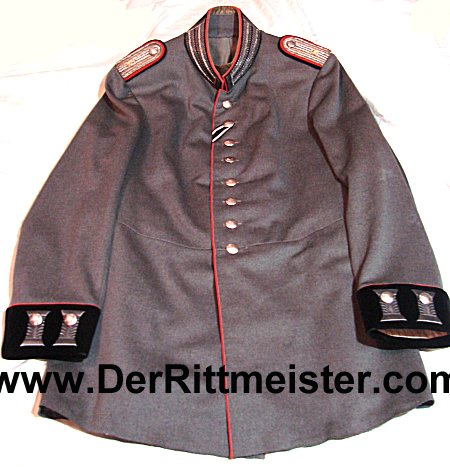 LEUTNANT'S M-1915 FELDGRAU FRIEDENSUNIFORM (TUNIC) - PIONIER-Bataillon Nr 6 - PRUSSIA - Imperial German Military Antiques Sale