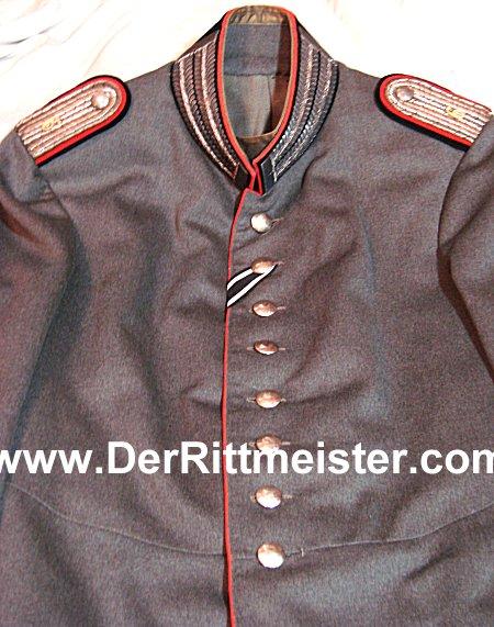 LEUTNANT'S M-1915 FELDGRAU FRIEDENSUNIFORM (TUNIC) - PIONIER-Bataillon Nr 6 - PRUSSIA - Imperial German Military Antiques Sale