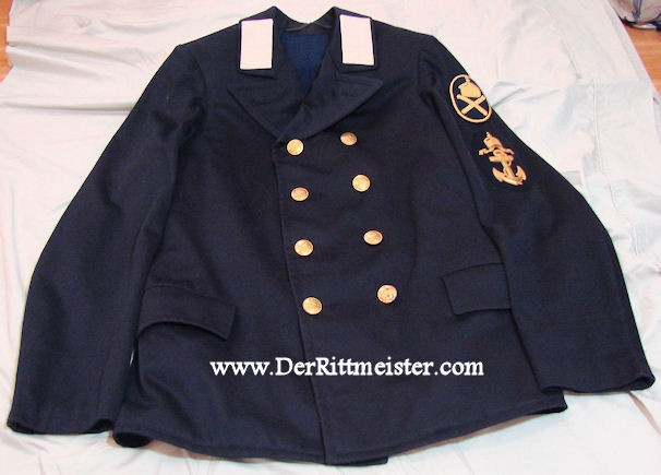 PETTY OFFICER TUNIC WHO COMMANDED THE ROYAL LAUNCH OF THE S.M.Y. (S.M.S.) HOHENZOLLERN. The S.M.Y. (S.M.S.) - Imperial German Military Antiques Sale