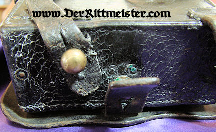 ENLISTED MAN CARTRIDGE BOX - LEIB-KÜRAßIER-REGIMENT GROßER KURFÜRST Nr 1 - PRUSSIA - Imperial German Military Antiques Sale