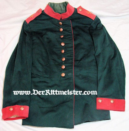 ENLISTED MAN'S JÄGER Bataillon Nr 4 TUNIC - PRUSSIA - Imperial German Military Antiques Sale
