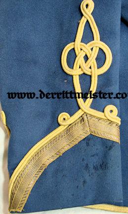 NCO'S ATTILA FOR A GRAF - HUSAREN-REGIMENT Nr 18 - SAXONY - Imperial German Military Antiques Sale