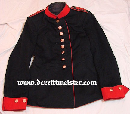 ENLISTED MAN'S TUNIC - ARTILLERIE-REGIMENT Nr 32 - SAXONY - Imperial German Military Antiques Sale