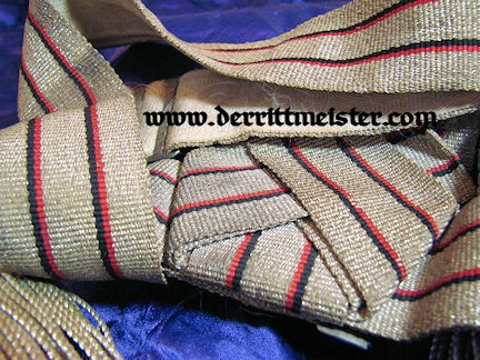 WÜRTTEMBERG - DRESS SASH WITH STORAGE CARTON - OFFICER - Imperial German Military Antiques Sale